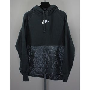NEW! NIKE QUILTED PULL OVER HOODIE!